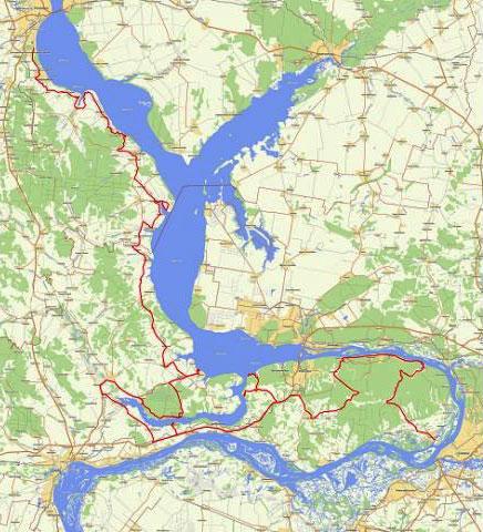 Карта маршрута на Гугле